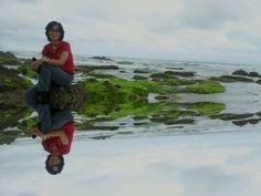 A Sawarna beach - the hiden paradise @Banten, Indonesia