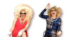 Katya Zamolodchikova and Trixie Mattel gif - Trixya laughing Katya And Trixie Mattel, Brian Firkus, Drag Me To Hell, Jinkx Monsoon, Rupaul Drag Queen, Katya Zamolodchikova, Love Your Hair, Hey Girl, Real Women