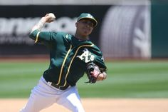 Oakland Athletics Jesse Chavez
