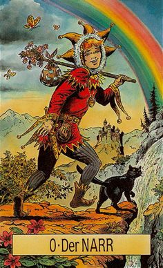 The Fool from the Arcus Arcanum Tarot