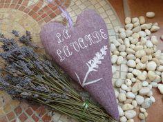 ❀ Deko Lavendel Herz ❀ la Lavande
