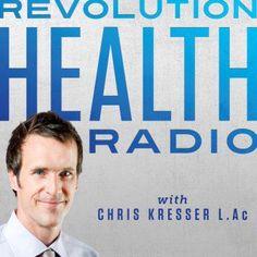 Revolution_Health_Radio_logo-1400x1400-fixed. Debunking trendy diets like paleo with. Harvard phd.