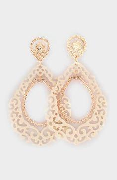 Sedona Earrings in Ivory