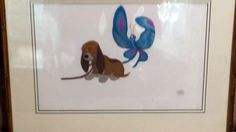1980 DISNEY FOX AND THE HOUND PRODUCTION CEL of Copper and Squeeks, sold $300 in 2016
