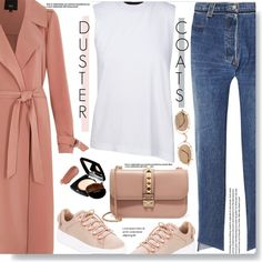 Duster Coats by chocolate-addicted-angel on Polyvore featuring polyvore, fashion, style, River Island, Vetements, Kendall + Kylie, Valentino, Matsuda, Kjaer Weis and Farrow & Ball