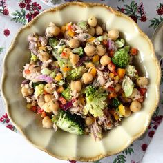 Coentros & Rabanetes: Salada colorida de atum | Tuna colourful salad