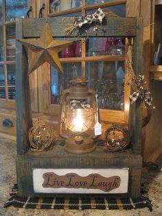 primitive country decorating ideas for kitchen' Primitive Homes, Primitive Kitchen, Primitive Crafts, Country Primitive, Wood Crafts, Primitive Furniture, Pallet Crafts, Country Farmhouse, Decor Crafts
