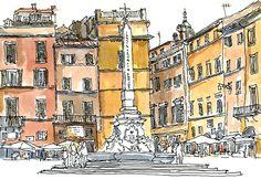 Piazza della Rotonda - Rome - Italie