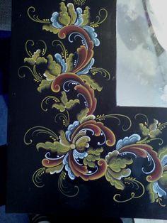 rosemaling | Smykker, vev & rosemaling: februar 2011