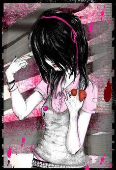 Les 26 Meilleures Images Du Tableau Emo Gothique Manga Sur