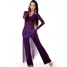 cheap belly dance costumes 3 piece(top+waist towel+pants) costume for dance 10color belly dancer costume free ship