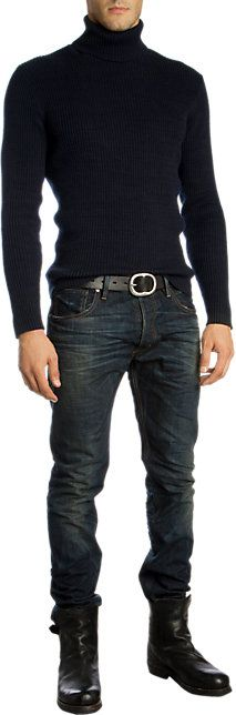 Ralph Lauren Black Label Prospector Jean - Straight - Barneys.com