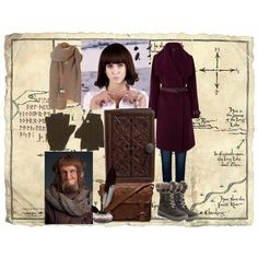 Ori Inspired Outfit The Hobbit by littlemisshobbit on Polyvore featuring Oasis, Anine Bing, Santana Canada, VIPARO, Wooden Ships and Clair Beauty