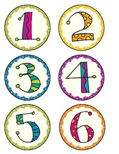 Number Labels - 1 to 30 | Classroom | Pinterest | Student-centered ...