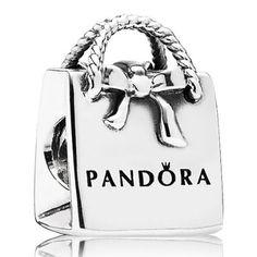Pandora Silver Bag Bead 791184 80295
