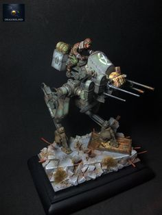 cool dust model... well painted.