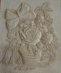 가죽공예-꽃바구니 카빙(Leather craft-Flower basket carving)   by madisa1