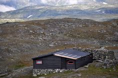 """The Tvergastein hut in the Hallingskarvet massif played an important role in Arne Næss' Ecosophy T, as """"T"""" is said to represent his mountain hut Tvergastein."""