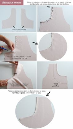 Amazing Sewing Patterns Clone Your Clothes Ideas. Enchanting Sewing Patterns Clone Your Clothes Ideas. Sewing Projects For Beginners, Sewing Tutorials, Sewing Hacks, Techniques Couture, Sewing Techniques, Fashion Sewing, Diy Fashion, Sewing Clothes, Diy Clothes