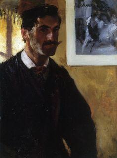 Alfred Henry Maurer - Self Portrait