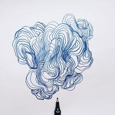 'Utdødd' Pen on paper. By Jan Ove Iversen