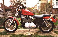 Now we're talking - My Harley Davidson Sportster Sport Amf Harley, Harley Davidson Motorcycles, Over The Years, Sporty, Vehicles, Classic, Derby, Car, Classic Books