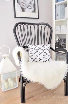 IKEA STORSELE with sheepskin