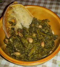 Nun te magnà tutte!: Minestra di verdure e fagioli Fagioli, Caterina, Palak Paneer, Ethnic Recipes, Food, Meal, Eten, Meals