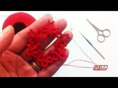 Chiacchierino Ad Ago - 19˚ Lezione Orecchino Cerchio Con Perline - Tutorial Come Fare Tatting buono