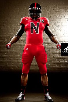 adidas and the University of Nebraska today unveiled new TECHFIT football uniforms the Cornhuskers will wear on September 2012 when they host the University Big Ten Football, Nebraska Football, Football Is Life, Oregon Ducks Football, Notre Dame Football, Nfl Football, American Football, Football Helmets, Sports