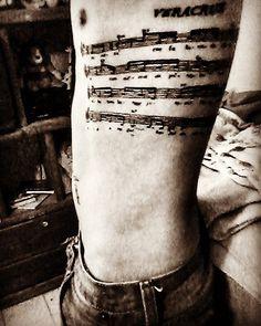 #sheetmusic #agustinlara #veracruzsong #tattoedguy #tattoo #ink #inked #partitura #partiture by legomenonhapax