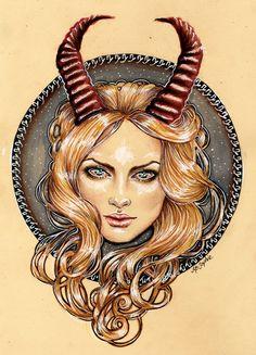 Capricorn by MsSophieArt.deviantart.com on @DeviantArt