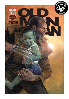 MARVEL COMICS Old Man Logan #1 - Gabriele Dell Otto Exclusive Cover