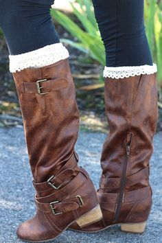 Southern Strut Strappy Buckle Boots