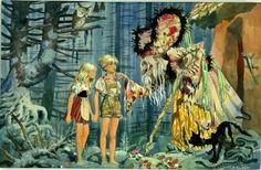 Joubert - Contes de Grimm - in Pirate JF's Joubert Comic Art Gallery Room Grimm, Norman Rockwell, Boy Art, Art Girl, Art Gallery, Fantasy Concept Art, Art Graphique, Fantasy Girl, Illustrations