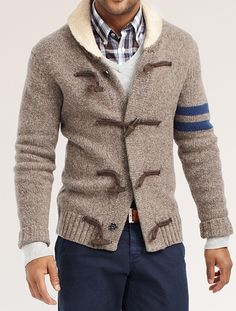 Love the stripe on this Tommy Hilfiger sweater (September 2012)