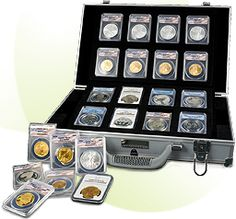 A Collectible Silver Asset Each Month!    Each month you will receive a genuine collectible asset.   A beautiful, perfectly graded, certified silver coin from leading mints around the world. IT'S FUN!! Click the link to discover how to start collecting yours.
