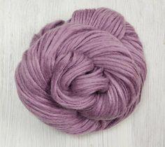 Yak Wool Yarn in Lilac
