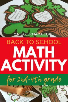 "Here is a perfect ""get to know you"" back to school activity that is math related. Perfect for 2nd-4th grade! #backtoschool #2ndgrademath #3rdgrademath #4thgrademath #mathactivity Math Games, Math Activities, Back To School Activities, 4th Grade Math, Free Math, Arithmetic, Elementary Math, Math Resources, Math Lessons"