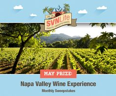 Upload your favorite travel photos for your chance to win a Napa Valley Wine Train tour and 80,000 Starpoints, which could be redeemed for 4 nights at The Westin Verasa Napa. You'll be automatically entered with every vacation photo uploaded by May 31.
