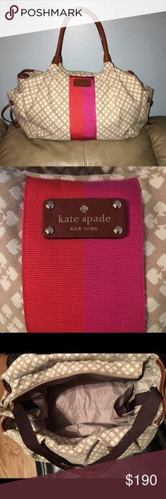 Kate Spade diaper bag Beautiful diaper bag with changing pad included. kate spade Bags Baby Bags