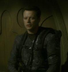Steven Culp as MACO Major J. Hayes on Star Trek Enterprise
