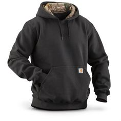 Sportsman's Guide has your Carhartt Men's Houghton Camo Hoodie Sweatshirt available at a great price in our Sweatshirts & Hoodies collection Country Wear, Country Fashion, Country Outfits, Country Life, Mens Outdoor Fashion, Mens Fashion Blog, Work Fashion, Men's Fashion, Cow Shirt
