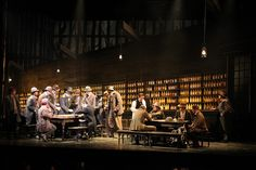 La Fanciulla del West from Grange Park Opera. Production by Stephen Medcalf.