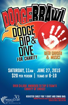 Sign up for Dodgebrawl #pensacola #sports #community