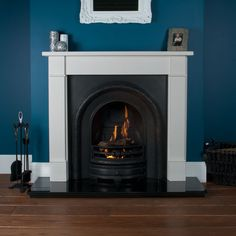 Lytton Thornton Limestone Fireplace Package - Limestone Fireplaces - Fireplace Packages