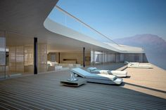 It looks like a great porch ,but it's an amazing .. Em... Yacht !