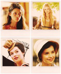 The Infernal Devices Ladies: Tessa Gray, Jessamine Lovelace, Charlotte Branwell  Sohpie Collins