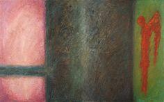 """Suicide angels"", oil painting, 160 x 100 cm, by Altea Leszczynska"