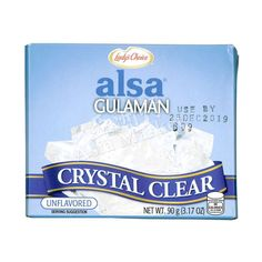 Lady's Alsa Gulaman Crystal Clear 90g